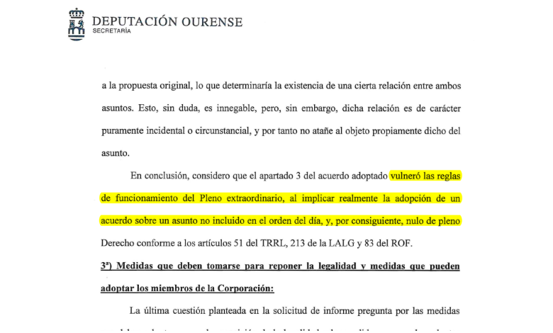 Informe secretario reprobacion Alfredo Garcia