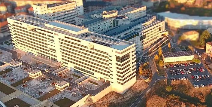 CHUO hospital universitario Ourense vista aerea