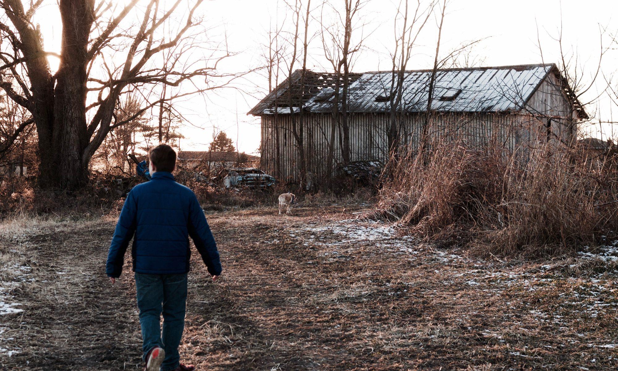 Rural abandonado