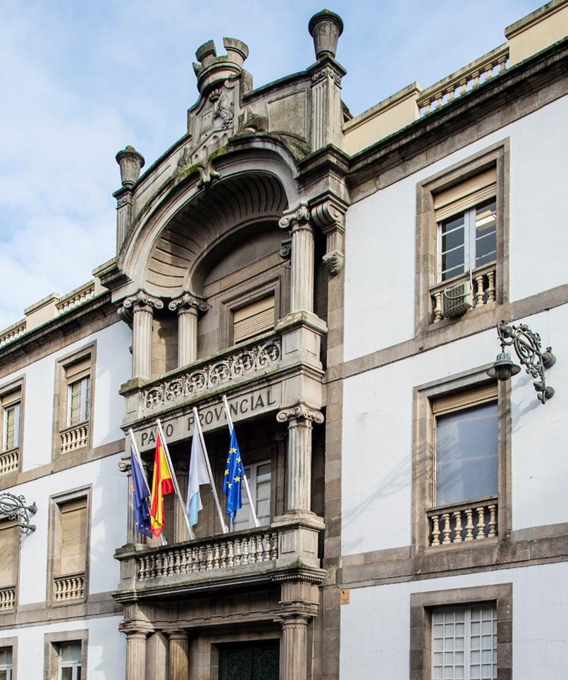 Fachada Deputacion Ourense