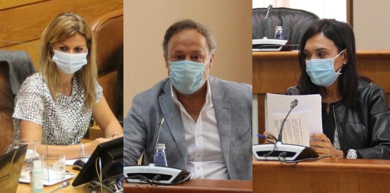 Diputados_Ourense_Parlamento_Galicia Marina Ortega Juan Carlos Francisco Carmen Rodríguez Dacosta