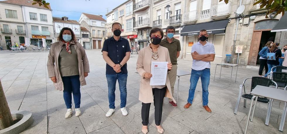 20210616 Elvira Lama Susana Rodriguez Alvaro Vila Rafa Villarino Nacho Gomez iniciativa Deputación Ourense axudas comercio provincia